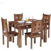 inhouz 4 seater dining table with chair