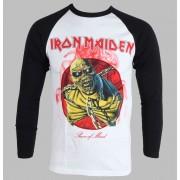 tricou stil metal bărbați copii Iron Maiden - Piece Of Mind - ROCK OFF - IMRL02MW