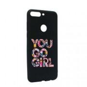 Husa de protectie Girl Power pentru OnePlus 5T Silicon B246