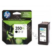 Касета HP 350XL, Black, p/n CB336EE - Оригинален HP консуматив - касета с глава и мастило