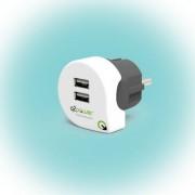 "Q2 power Dupla USB töltő ""Dual USB Charger 2.4A Europe"""