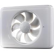 Ventilator FRESH Intellivent 2.0 de culoare alba, Garantie 5 ani, Timer reglabil, Auto-control al umiditatii, Consum 5 W, 134mc/h, Maxim 21 dB(A), Fabricatie Suedia