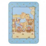 Детско микрофибърно одеало - синьо, Lorelli, 079092