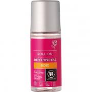 Deodorant bio roll-on cu piatra alaun si trandafir Urtekram 50 ml