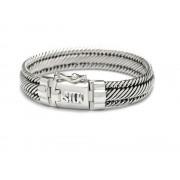 Silk jewellery Silk zilver armband Madonna 733.18