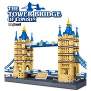 RIANZ All New Building Construction Blocks for Kids Boys & Girls (The Tower Bridge of London)