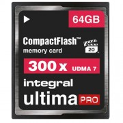Card Memorie CF Ultimapro 300X 64GB Integral