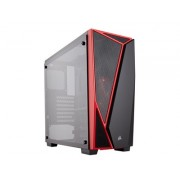 Corsair Carbide SPEC-04 Tempered Glass - Black/Red