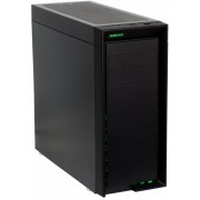 Nanoxia CoolForce 1 Midi-Toren Zwart computerbehuizing