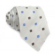 Cravatta seta a fiori MOSCHINO
