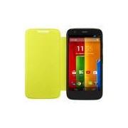 Capa para Celular Motorola Flip Shell Moto G, Limão