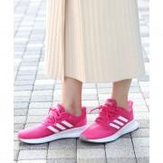 【SALE 10%OFF】Juze 【adidas】 FALCON RUN W(ピンク系(65))【返品不可商品】 レディース