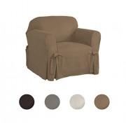 Serta Funda para silla de comedor regular, color Marrón, Silla