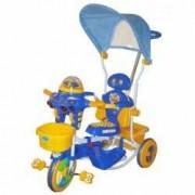 Tricicleta EURObaby 2890AC - Albastru