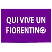 Tréfás Lábtörlő / Olasz foci Fiorentina szurkoló