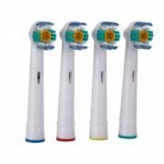 James Zhou 4-pack kompatibla tandborsthuvud till Oral-B, djup borste