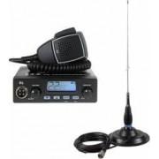 Kit Statie radio CB TTi TCB-550 + Antena PNI ML145 cu magnet 145-PL