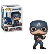 Pop! Vinyl Figura Funko Pop! - Capitán America Exclusivo - Marvel Vengadores: Endgame