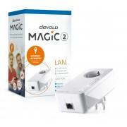 Devolo Magic 2 LAN,Adaptador adicional,Velocidade Powerline até 2400Mbps c/ 1 Porta LAN- PT8259