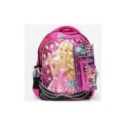 Mochila Barbie Rock 'n Royals com Microfone