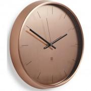 Стенен часовник Umbra Meta, цвят мед