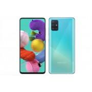 """Smartphone, Samsung GALAXY A71, DualSIM 6.7"""", Arm Octa (2.2G), 6GB RAM, 128GB Storage, Android10, Blue (SM-A715FZBUBGL)"""