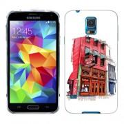 Husa Samsung Galaxy S5 Mini G800F Silicon Gel Tpu Model Old Town Bar