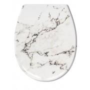 """Kleine Wolke WC-Sitz """"Marmor"""" Kleine Wolke weiß/grau marmoriert"""