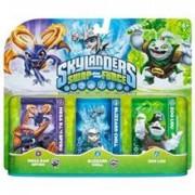 Set 3 Figurine Skylanders Swap Force Mega Ram Spyro, Blizzard Chill, Zoo Lou