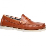 Hush Puppies Boat -Slip On Men's Tan Loafers