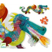 Djeco Floor Puzzle - Leon The Dragon 36 Pieces
