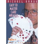 Easy to Master Card Miracles Volume 4 by Michael Ammar video DOW