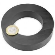Magnet ferita inel, diametru 100/60 mm, putere 16 kg