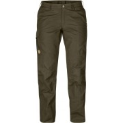 FjallRaven Karla Pro Trousers Curved - Dark Olive - Reisehosen 36