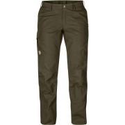 FjallRaven Karla Pro Trousers Curved - Dark Olive - Pantalons de Voyage 34