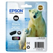 Epson Original Tintenpatrone T2631, photo-black XL