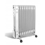Calorifer electric Argo Silence 11, 2500 W, 11 elementi, 3 trepte de putere, Protectie supraincalzire, Termostat, LED