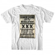 Edge Straight Edge Sober Living T-shirt