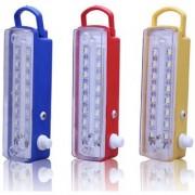 16W Emergency Light 7 Step Regulator Multicolour - Pack of 3
