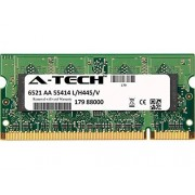 A-Tech Components 2 GB Stick Toshiba Satellite L500-ST2522 L500-ST5505 L500-ST55 X 1 L505 - 12 W L505D PSLV6U-09T02T L505D-109 L505D-10 C L505D-10J L505D-ES5024 L505D-ES5025 SO-DIMM DDR2 Non-ECC PC2 - 6400 800 MHZ de memoria RAM