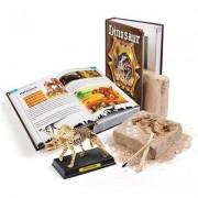 Dinosaur Book Skeleton Dig Excavation Kit