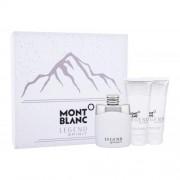 Montblanc Legend Spirit set cadou Apa de toaleta 100 ml + balsam dupa ras 100 ml + gel de dus 100 ml pentru bărbați