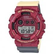 Casio G-SHOCK Montre numérique GD-120NC-4 - Rouge / Jaune / Gris