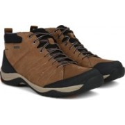 Clarks BaystoneUp GTX Tobacco Nubuck Boots For Men(Brown)