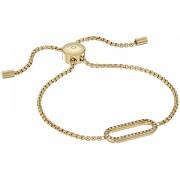 Michael Kors Iconic Link Pave Slider Bracelet Gold