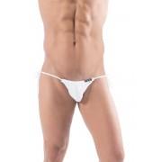 Vixson Men Tie Sides Mini Bikini Underwear White VN-0503