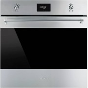 Smeg SFP6372X Classica Single Built In Electric Oven - Stainless Steel