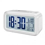 Statie meteo Bresser MyTime Duo 8010011, termometru, higrometru, alarma, alb
