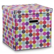ZELLER Box pro skladování, téma - tečky, 35 l, ZELLER