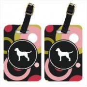 Caroline's Treasures KJ1020BT Chesapeake Bay Retriever Luggage Tags Luggage Tag(Multicolor)